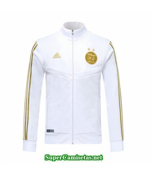 Tailandia Camiseta Argelia Chaqueta Blanco/negro 2019/20
