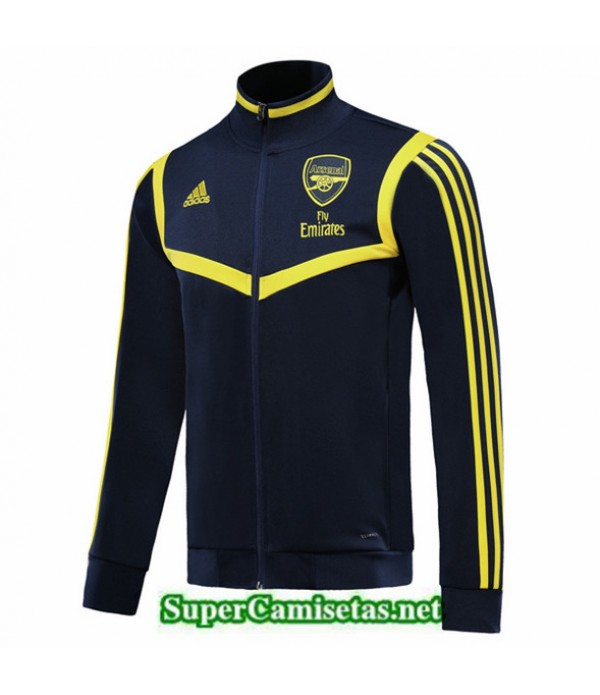 Tailandia Camiseta Arsenal Chaqueta Azul Oscuro/amarillo 2019/20