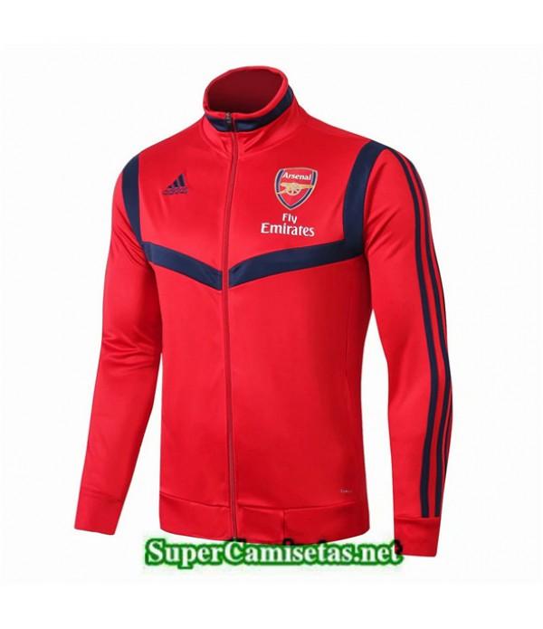Tailandia Camiseta Arsenal Chaqueta Rojo/azul 2019/20