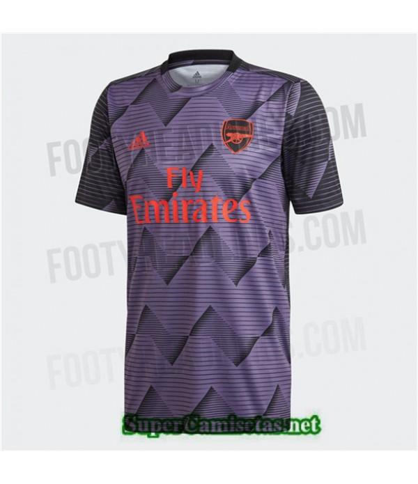 Tailandia Camiseta Arsenal Pre Match Púrpura 2019/20
