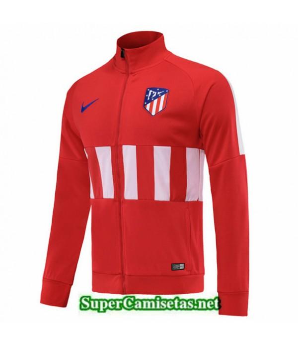 Tailandia Camiseta Atletico Madrid Chaqueta Rojo/blanco 2019/20