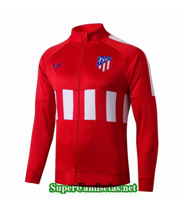 Tailandia Camiseta Atletico Madrid Chaqueta Rojo Negro 2019/20