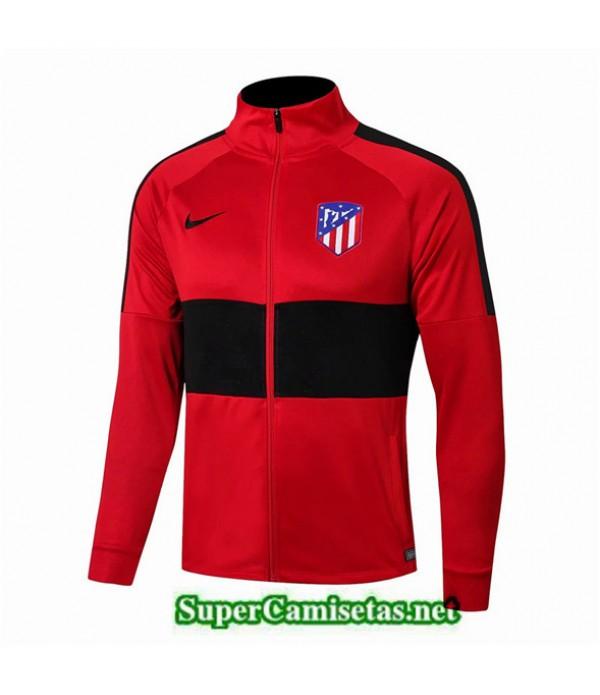 Tailandia Camiseta Atletico Madrid Chaqueta Rojo/negro 2019/20