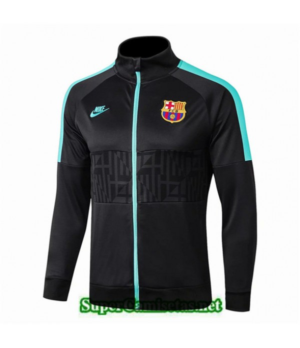 Tailandia Camiseta Barcelona Chaqueta Negro 2019/20 01