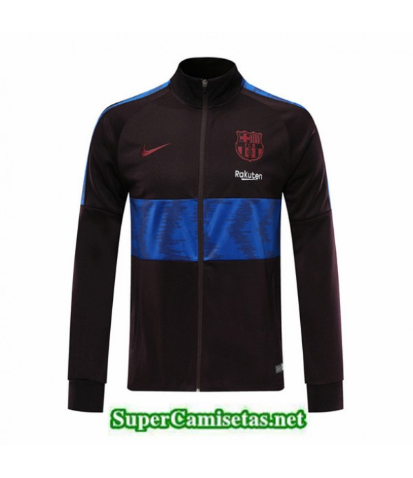 Tailandia Camiseta Barcelona Chaqueta Negro/azul 2019/20