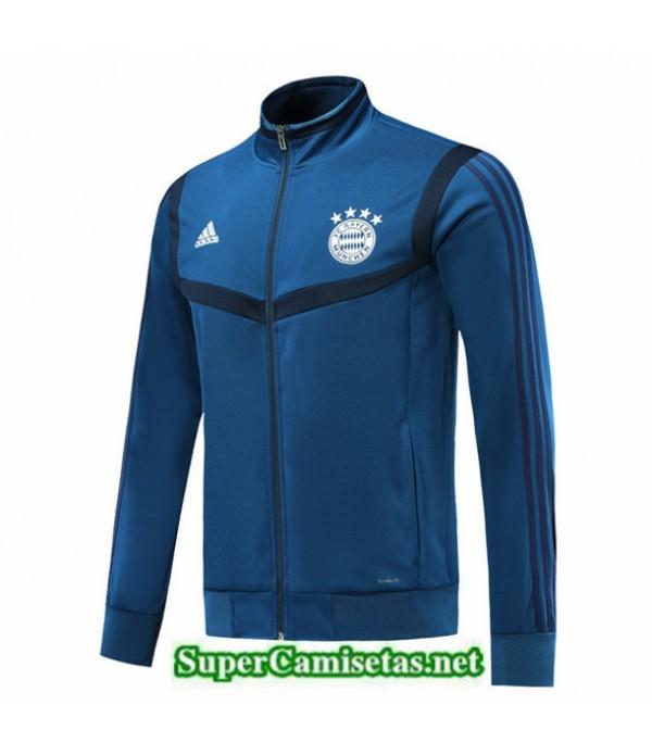 Tailandia Camiseta Bayern Munich Chaqueta Azul Oscuro 2019/20