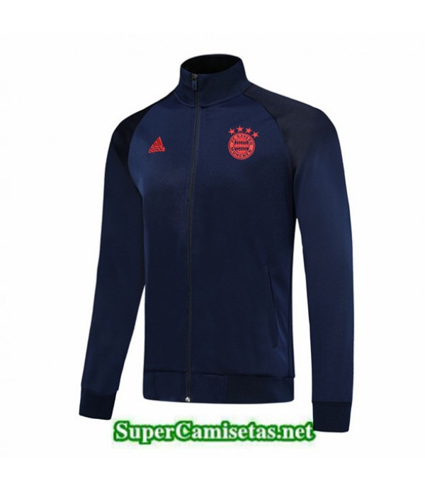 Tailandia Camiseta Bayern Munich Chaqueta Azul Oscuro/rojo 2019/20