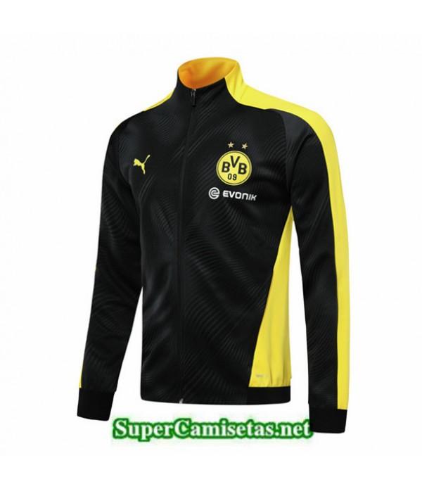 Tailandia Camiseta Borussia Dortmund Bvb Chaqueta Negro/amarillo 2019/20
