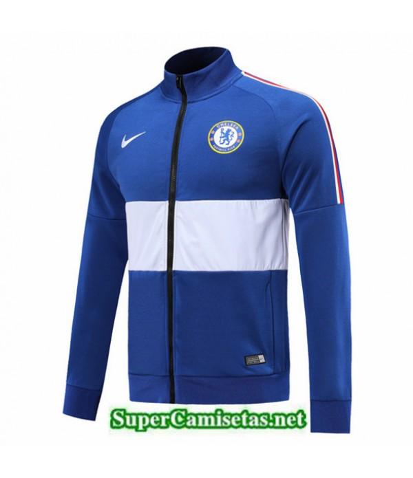 Tailandia Camiseta Chelsea Chaqueta Azul/blanco 2019/20