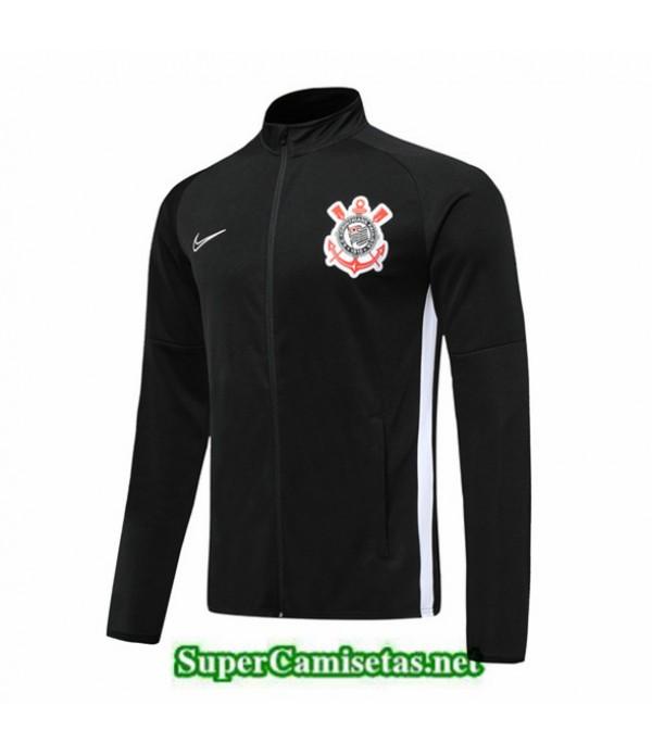 Tailandia Camiseta Corinthians Chaqueta Negro 2019/20