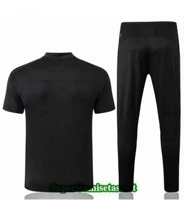 Tailandia Camiseta Entrenamiento Borussia Dortmund Negro 2019/20 Cuello V