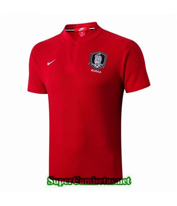 Tailandia Camiseta Entrenamiento Corea Rojo 2019/20 01