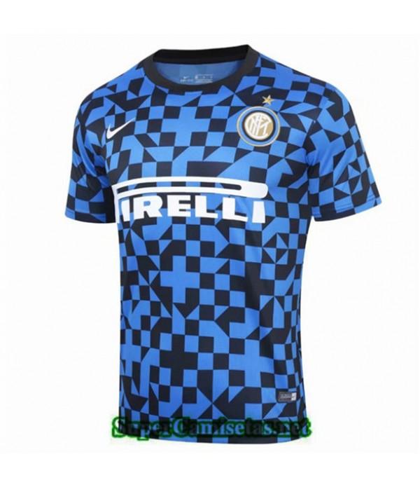 Tailandia Camiseta Entrenamiento Inter Milan Azul/...