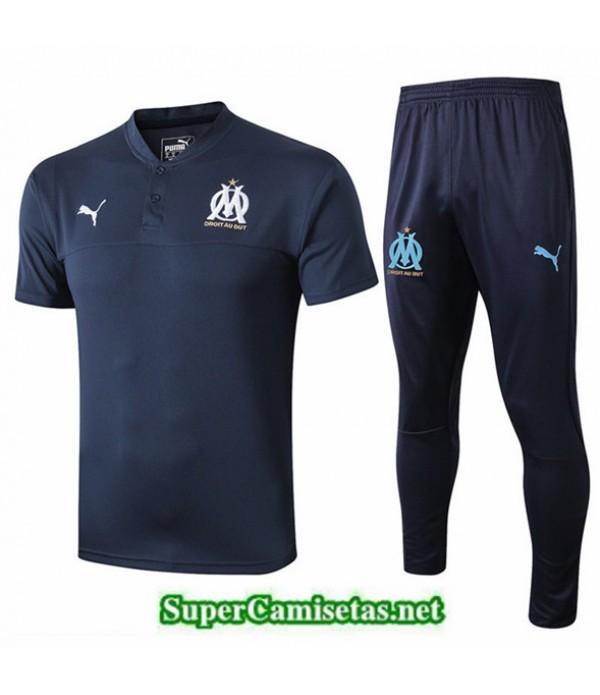 Tailandia Camiseta Entrenamiento Marsella Azul Osc...