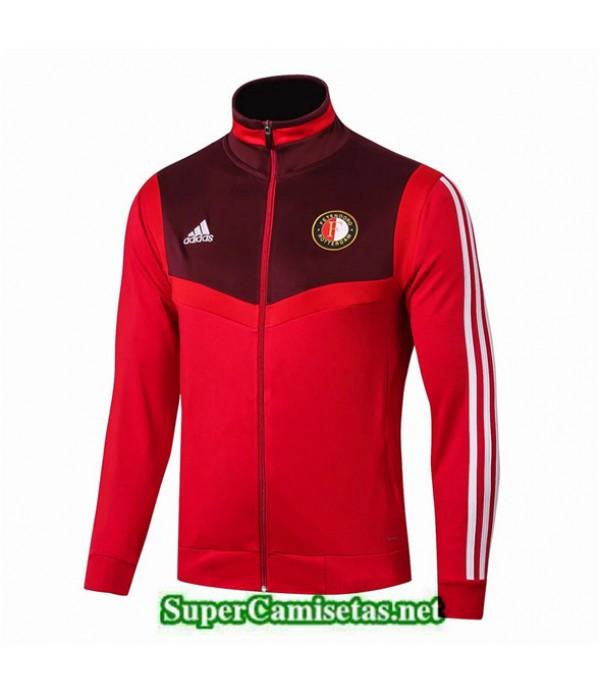 Tailandia Camiseta Feyenoord Chaqueta Rojo 2019/20