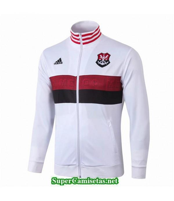 Tailandia Camiseta Flamengo Chaqueta Blanco 2019/20