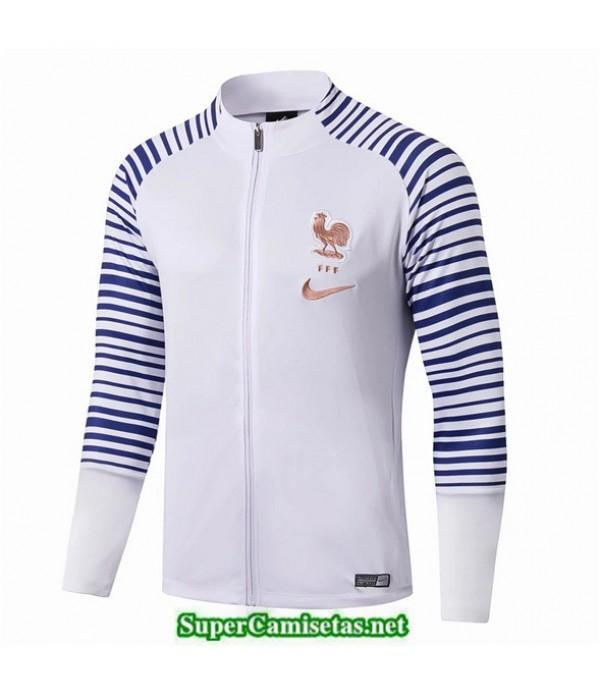 Tailandia Camiseta Francia Chaqueta Blanco/azul 2019/20