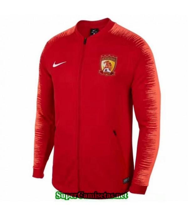 Tailandia Camiseta Guangzhou Chine Chaqueta Rojo 2019/20