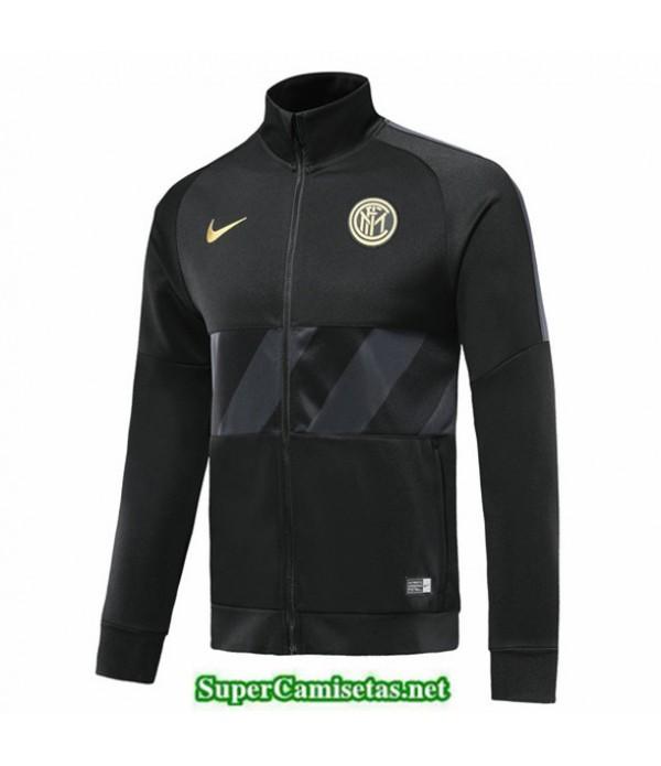 Tailandia Camiseta Inter Milan Chaqueta Negro 2019/20