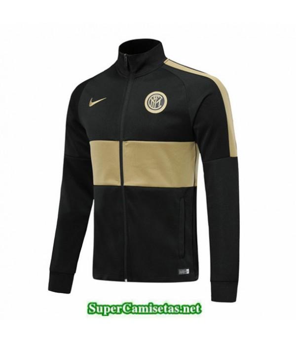 Tailandia Camiseta Inter Milan Chaqueta Negro/kaki 2019/20
