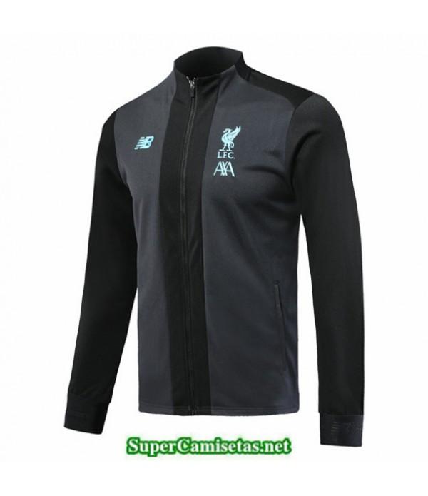 Tailandia Camiseta Liverpool Chaqueta Gris/negro 2019/20