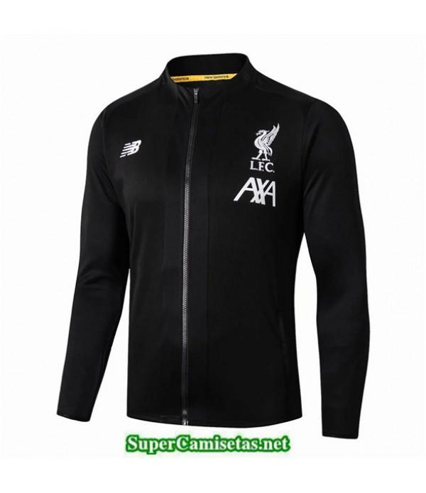 Tailandia Camiseta Liverpool L.f.c Chaqueta Negro/blanco 2019/20