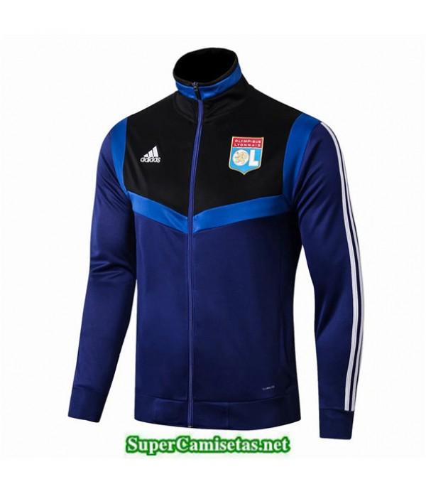Tailandia Camiseta Lyon Chaqueta Azul Oscuro 2019/20