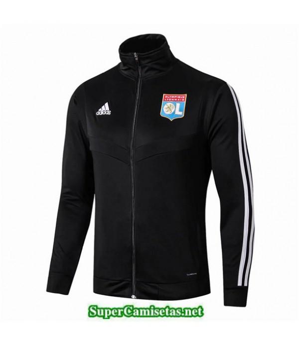 Tailandia Camiseta Lyon Chaqueta Negro 2019/20