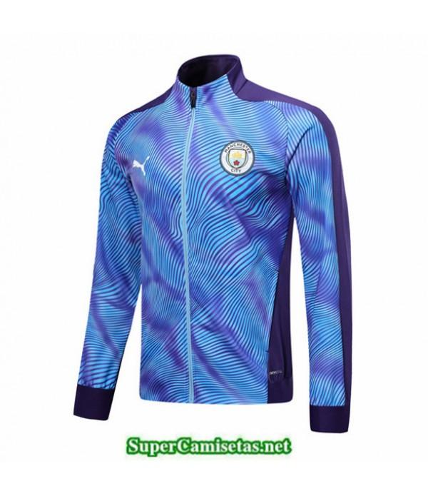 Tailandia Camiseta Manchester City Chaqueta Púrpura/azul 2019/20