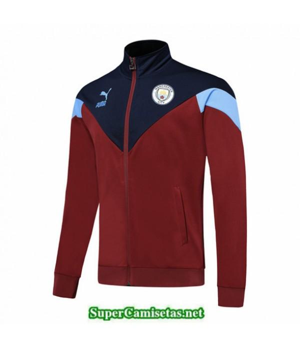 Tailandia Camiseta Manchester City Chaqueta Rojo/azul 2019/20