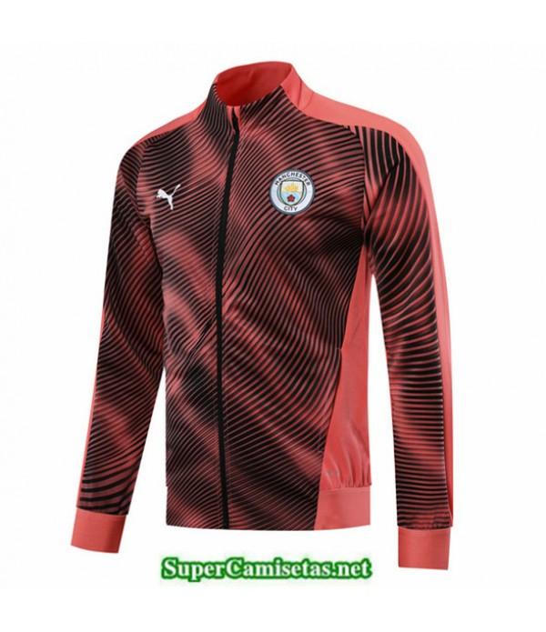 Tailandia Camiseta Manchester City Chaqueta Rose/negro 2019/20