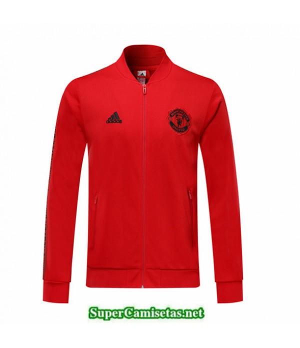Tailandia Camiseta Manchester United Chaqueta Rojo 2019/20