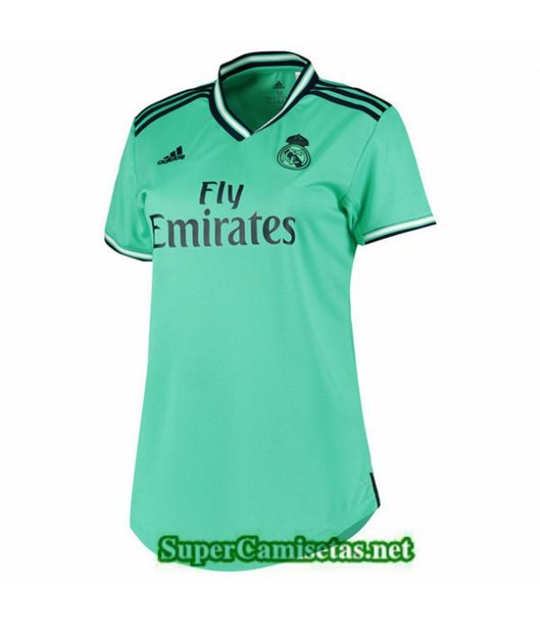 Tailandia Camiseta Mujer Tercera Real Madridverde ...