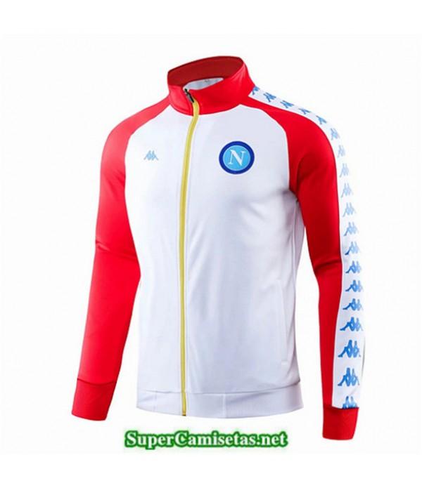 Tailandia Camiseta Napoli Chaqueta Blanco/rojo 2019/20