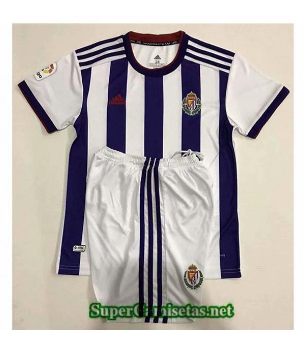 Tailandia Camiseta Niños Primera Real Valladolid2019/20
