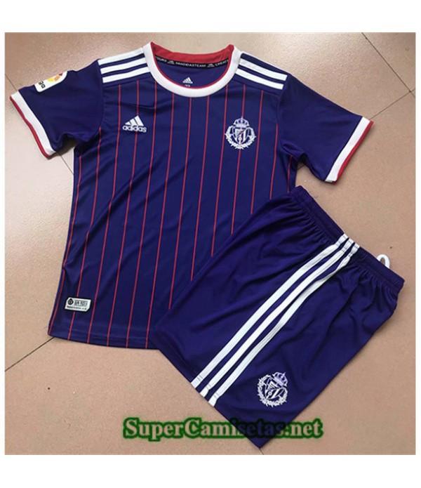 Tailandia Camiseta Niños Segunda Real Valladolid2019/20