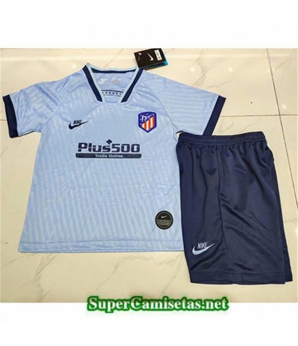 Tailandia Camiseta Niños Tercera Atletico Madrid2019/20