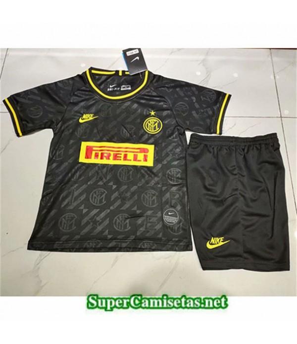 Tailandia Camiseta Niños Tercera Inter Milannegro...