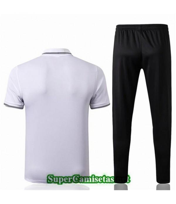Tailandia Camiseta Polo Entrenamiento Liverpool Blanco/negro 2019/20