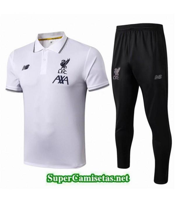 Tailandia Camiseta Polo Entrenamiento Liverpool Bl...