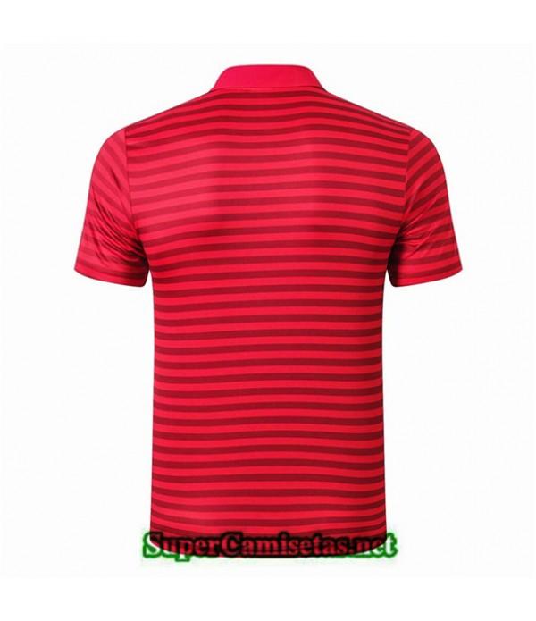 Tailandia Camiseta Polo Entrenamiento Liverpool Rojo Bande Negro 2019/20
