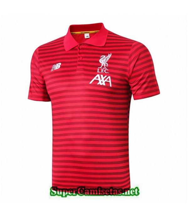 Tailandia Camiseta Polo Entrenamiento Liverpool Ro...