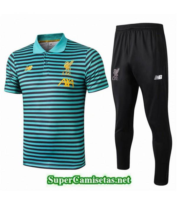 Tailandia Camiseta Polo Entrenamiento Liverpool Ve...