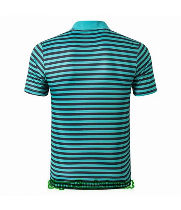 Tailandia Camiseta Polo Entrenamiento Liverpool Verde Bande Negro 2019/20