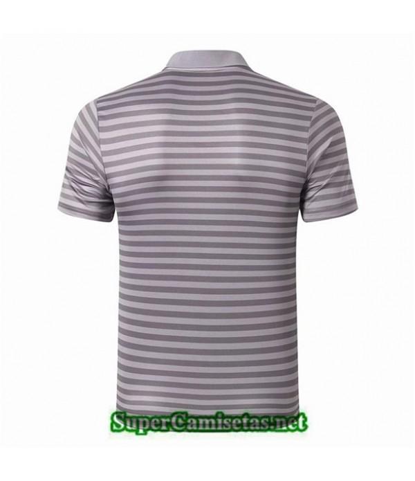 Tailandia Camiseta Polo Entrenamiento Liverpool Bande Gris 2019/20