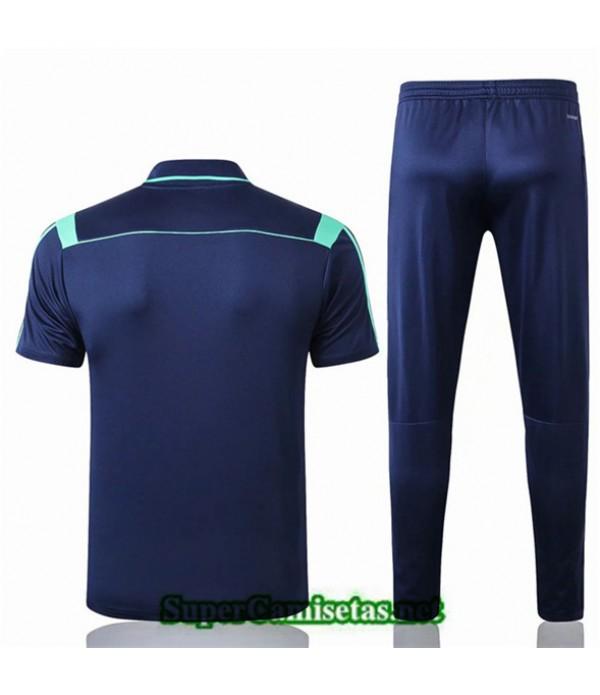 Tailandia Camiseta Polo Entrenamiento Real Madrid Azul Oscuro 2019/20