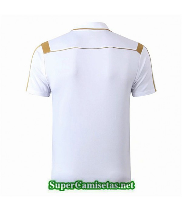 Tailandia Camiseta Polo Entrenamiento Real Madrid Blanco 2019/20