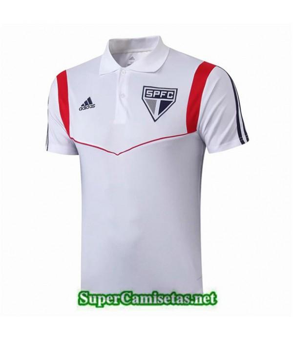 Tailandia Camiseta Polo Entrenamiento Sao Paulo Blanco 2019/20
