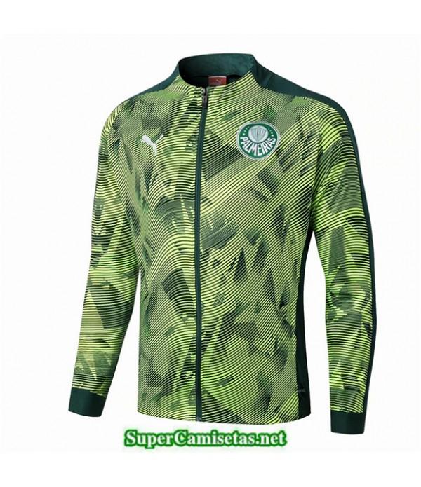 Tailandia Camiseta Palmeiras Chaqueta Vert 2019/20