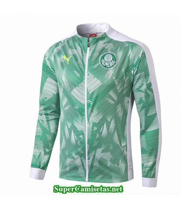 Tailandia Camiseta Palmeiras Chaqueta Vert/blanco 2019/20